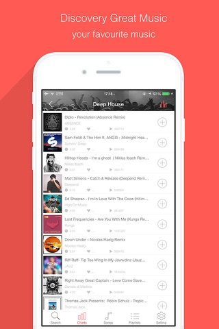 Music Tuber - Free Music Stream Manager & Mp3 Media Player screenshot 2