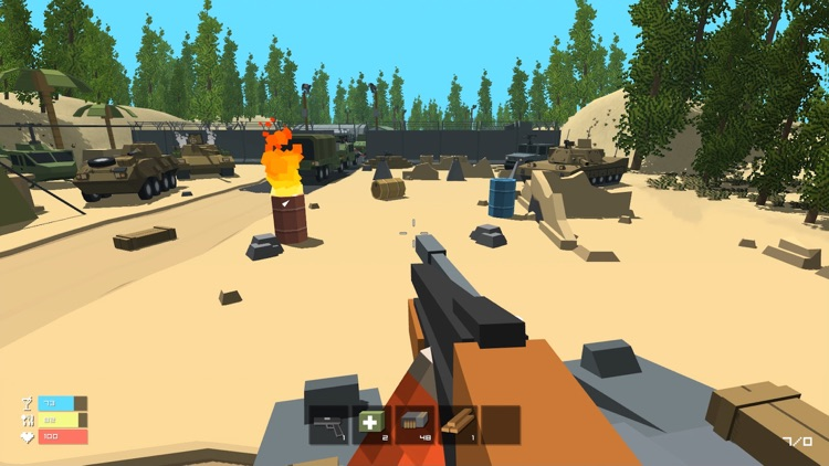 Lurker Pixel Battle Royal - Shooter Survival Multiplayer Mini Block