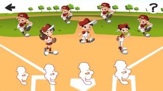 Screenshot of Baby Puzzle: Gioco di Baseball Dei Bambini Per Bambini. Ordinamento Oggetti Per Dimensione3