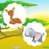 活躍! 學習兒童遊戲與森林的動物