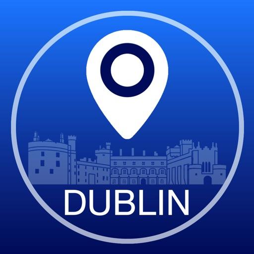 Dublin Carte Offline + Guide Ville Navigateur, Attractions et Transports