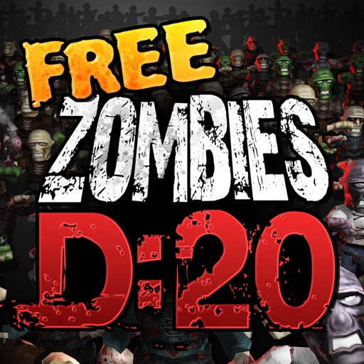 Zombies: Dead in 20 Free iOS App