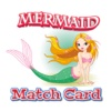 Match Cards Brain Training Game - Little Mermaid Version