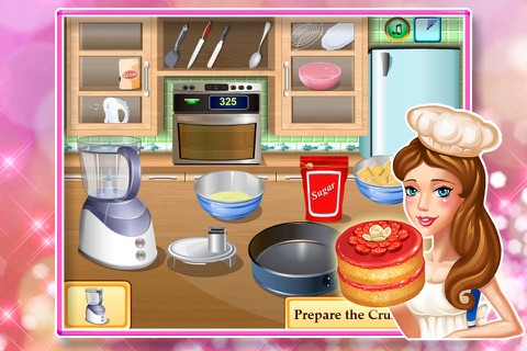 Baby cooking games:cheesecake screenshot 3