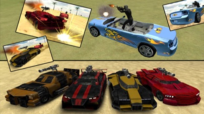 Battle Cars Beach Racing 3D