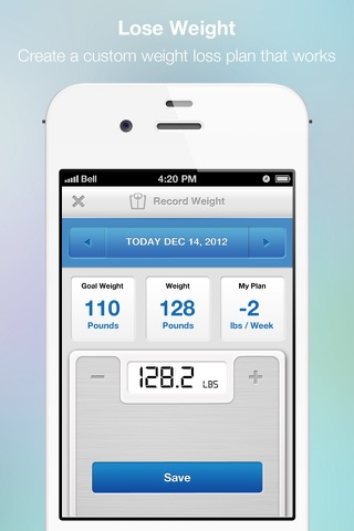 FitDay - Free Diet and Weight Loss Journal screenshot 2