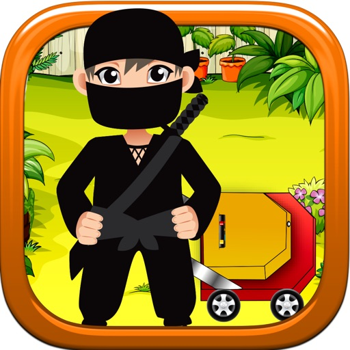 Ninja Lawn Mowing Madness iOS App