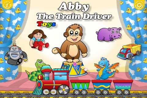 Toys Train • Kids Love Learning Toys: Fun Interactive Adventure Game with Animals, Cars, Trucks and more Vehicles for Children (Baby, Toddler, Preschool) by Abby Monkey® screenshot 2