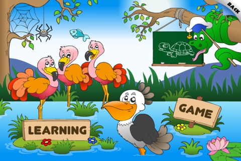 First Words School Adventure: Animals • Early Reading - Spelling, Letters and Alphabet Learning Game for Kids (Toddlers, Preschool and Kindergarten) by Abby Monkey® Lite screenshot 1