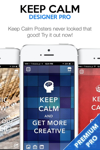 Keep Calm Designer PRO - Create Custom Posters and Wallpapers screenshot 2