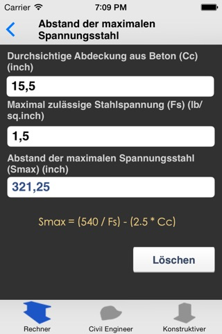 Beam Calculator screenshot 3