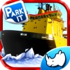 Ice-Breaker Boat Parking and Driving Ship Game of 3D Sea Rescue Missions