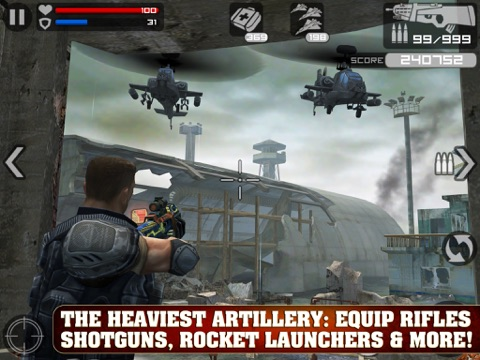 Screenshots of Frontline Commando for iPad