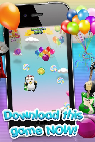 Baby Panda Bears Candy Rain - A Fun Kids Jumping Edition FREE Game! screenshot 2
