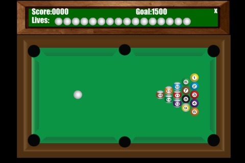 StraightPool screenshot 2