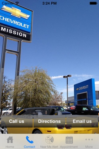 Screenshot of Mission Chevrolet