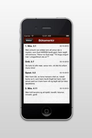 Bíblian screenshot 4