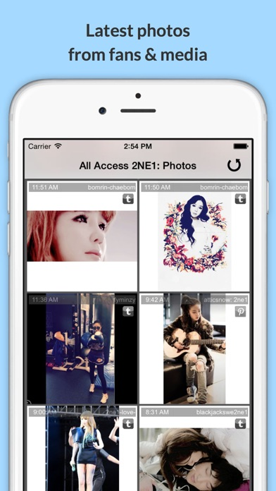 download All Access: 2NE1 Edition - Music, Videos, Social, Photos, News & More! apps 4