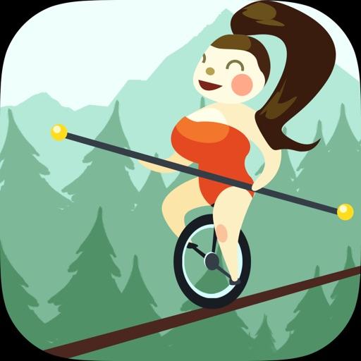 Walk On Rope Wrestling Fighter Balance iOS App