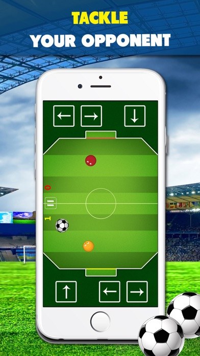download Chaos Soccer Scores Goal - Multiplayer football flick apps 1
