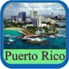 Puerto Rico Island Offline Map Travel Guide