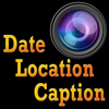 Photo Date, Location and Caption Stamp Camera
