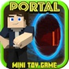 BLOCK PORTAL CRAFT • Survival Hunter Mini Game with Multiplayer