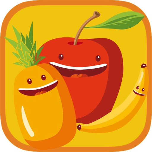 Fruits Crush'm Match 3 Puzzle iOS App