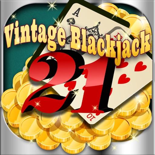 A Aces Vintage Blackjack Card Game iOS App