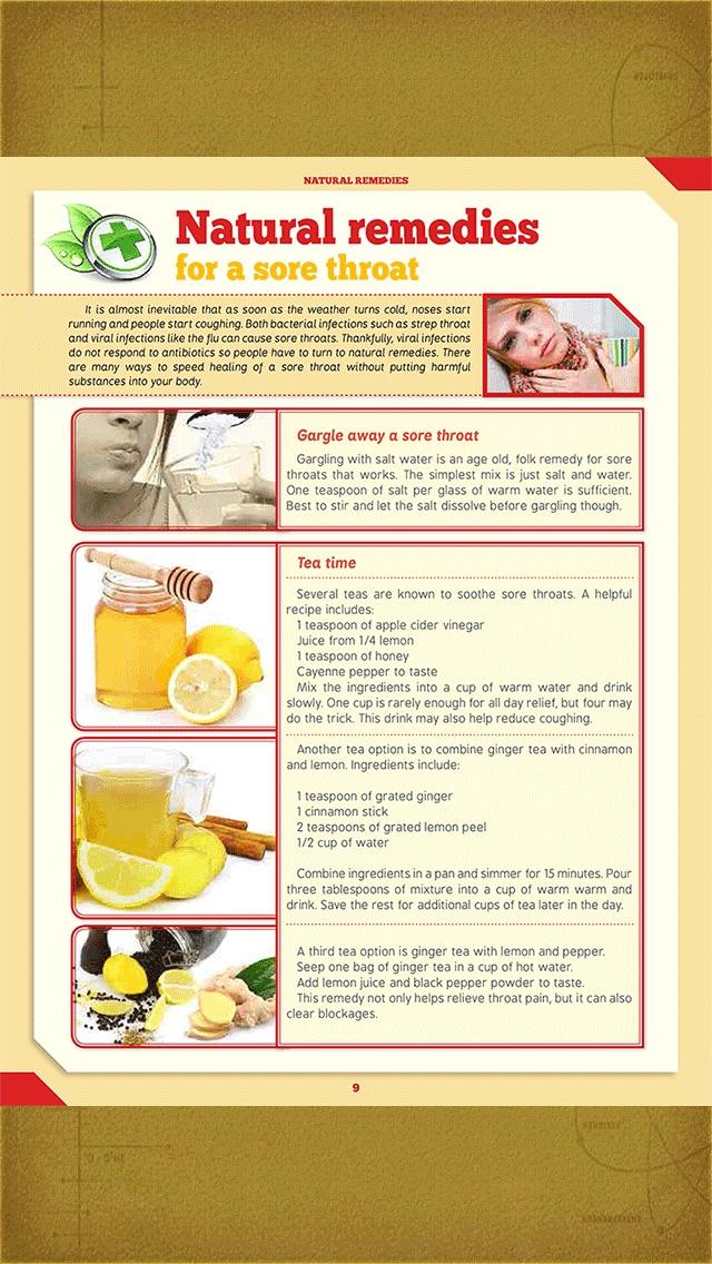 Natural Remedies screenshot1