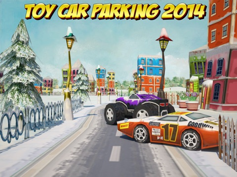 Screenshot #6 pour 3D Toy Car Parking Simulator 2014 - Cartoon Car, Bus & Truck Driving,  Parking & Racing Games Free