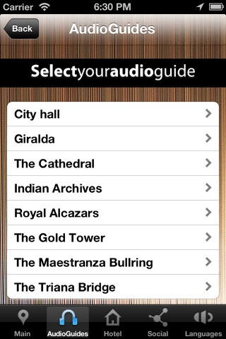 Audioguía Sevilla Hotel Bécquer screenshot 2