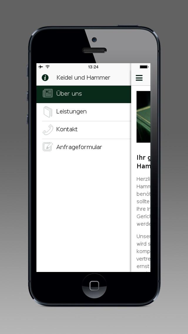 Screenshot von Keidel und Hammer1