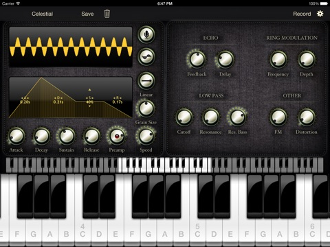 Sylo Synthesiser screenshot 1