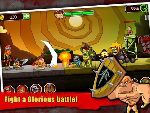 Скачать игру Легенда против Зомби