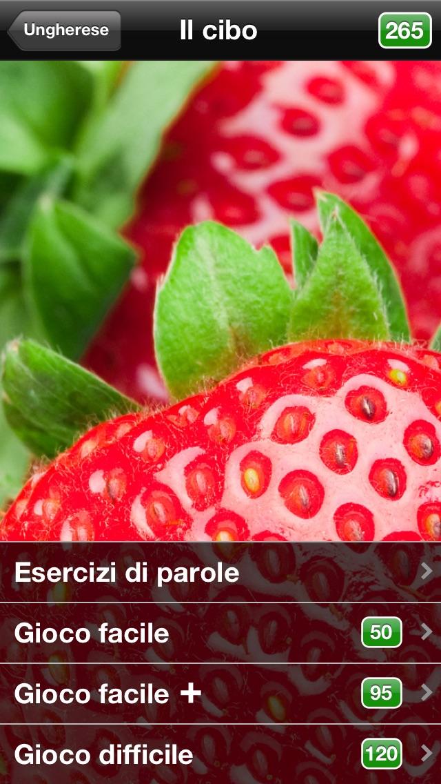 Screenshot of uTalk Classic Imparare Ungherese2