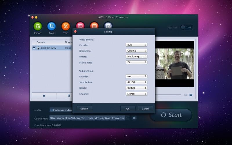 AVCHD Video Converter Screenshot - 3