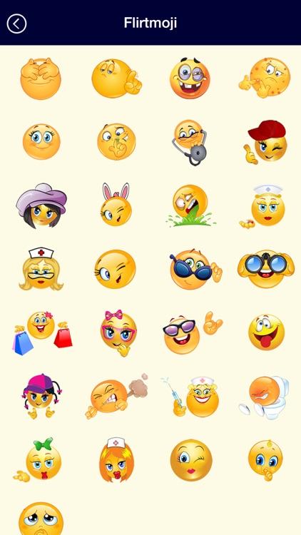 Flirty Emojis Icons Romantic Texting Adult Emoticons Message