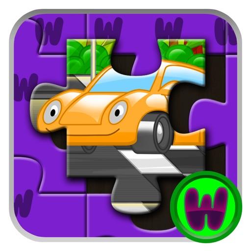 Toddler Car Jigsaw iOS App
