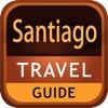 Santiago  Offline Map Travel Guide