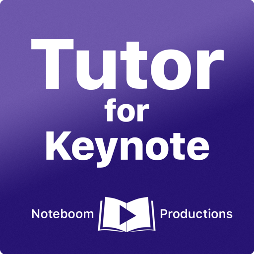 Keynote 教程 Tutor for Keynote for Mac