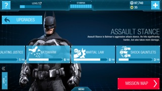Screenshots of Batman: Arkham Origins for iPhone