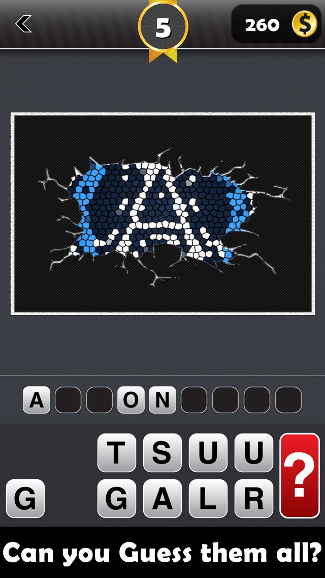 Screenshots of Sports Games Logo Quiz (Guess the Sport Logos World Test Game and Score a Big Win!) FREE for iPhone