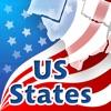 US-Staaten, Hauptstädte, Flaggen, Standorte und Dichtungen Quiz