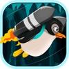 Running Jetpack Penguin