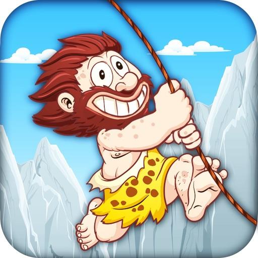 Caveman Rope Swinger Adventure iOS App