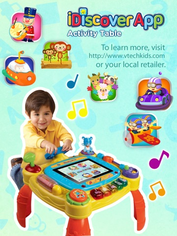 vtech idiscover activity table app pack on the app store. Black Bedroom Furniture Sets. Home Design Ideas