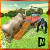 Transport Truck Zoo Animals