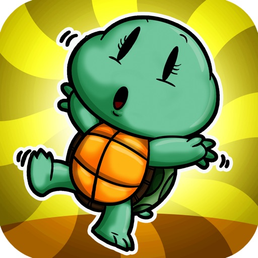 Baby Turtle Bounce - Navigate and Dodge Obstacle Race iOS App