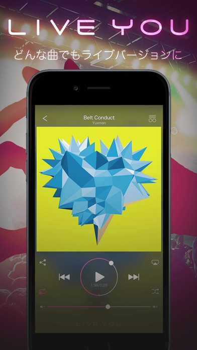download LIVE YOU -Make your music sound live- | free music player apps 2